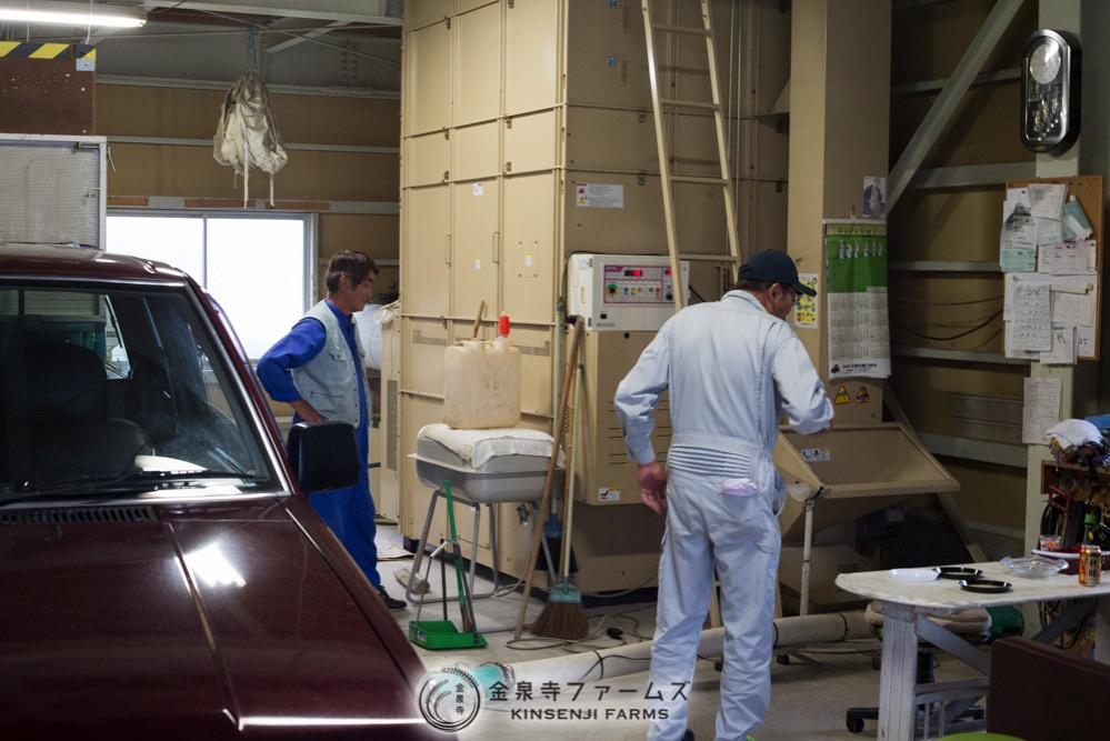 富山米 コシヒカリ 稲刈り 2日目 8