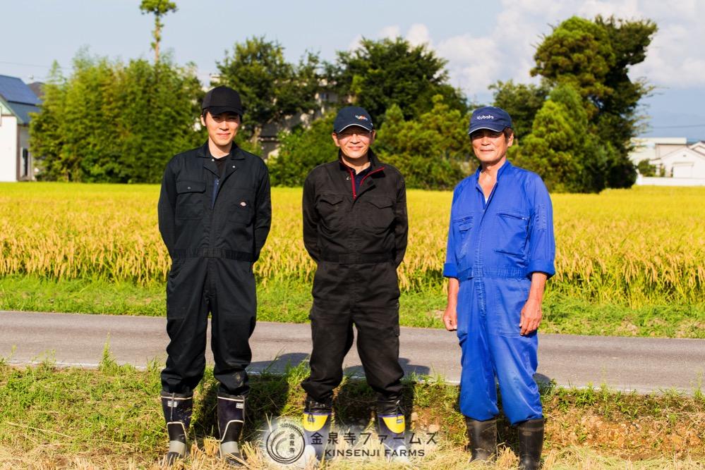 金泉寺ファームズ 生産農家のメンバー 2